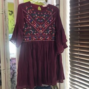 Altar'd State fall colors tunic dress